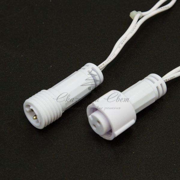 Гирлянда Нить 10м, постоянное свечение, белый ПВХ, 230В, цвет: Тёплый белый 1