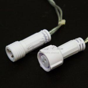 Гирлянда Нить 10м, постоянное свечение, прозрачный ПВХ, 230В, цвет: Тёплый белый