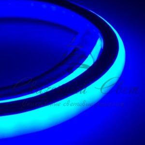 Гибкий Неон LED 360 (круглый) — синий, бухта 50м