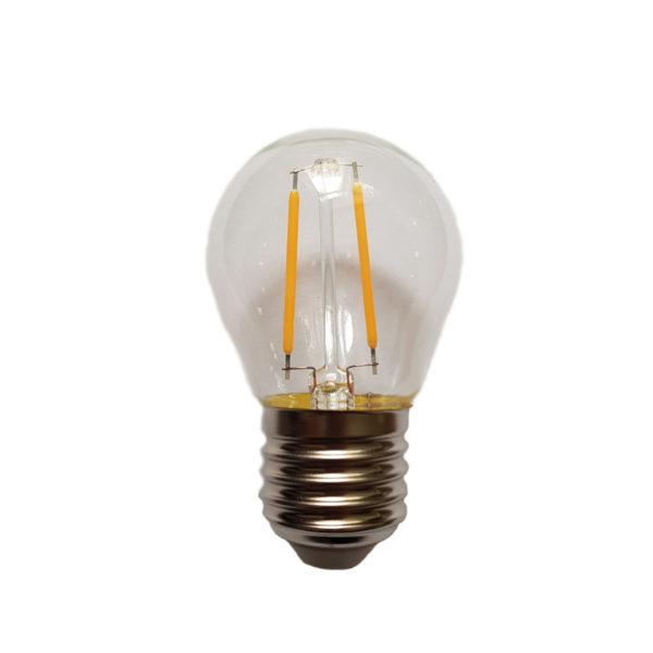 Лампа филаментная для белт-лайт е27 2Вт тепло-белая