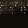 Гирлянда Айсикл (бахрома) светодиодный, 1,8 х 0,5 м, прозрачный провод, 230 В, диоды синие 2