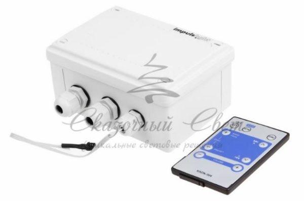 Контроллер для Белт-лайта 230 В, 1320Вт 4 кан. х 1, 5 А, ДУ IP54