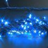 Светодиодная гирлянда Rich LED Нить 10 м, 24В, постоянного свечения, соединяемая, прозрачный провод, Зеленая 2
