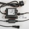 Светодиодная гирлянда Rich LED Нить 10 м, 24В, герметичный колпачок, IP65, постоянного свечения, соединяемая, белый провод, Белая 2