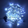 Светодиодная гирлянда Rich LED Нить 10 м, 24В, постоянного свечения, соединяемая, черный провод, Зеленая 1