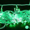Светодиодная гирлянда Rich LED Нить 10 м, 220В, постоянного свечения, соединяемая, прозрачный провод, Тепло-белая 2
