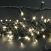 Светодиодная гирлянда Rich LED Нить 10 м, 24В, постоянного свечения, белый провод, Тепло-белая 1