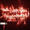 Светодиодная гирлянда Rich LED Нить 10 м, 220В, постоянного свечения, соединяемая, прозрачный провод, Тепло-белая 1
