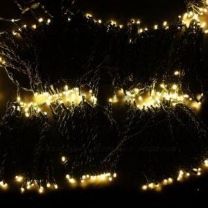 Гирлянда «LED ClipLight» 24V, 5 нитей по 20 метров, цвет диодов Теплый Белый