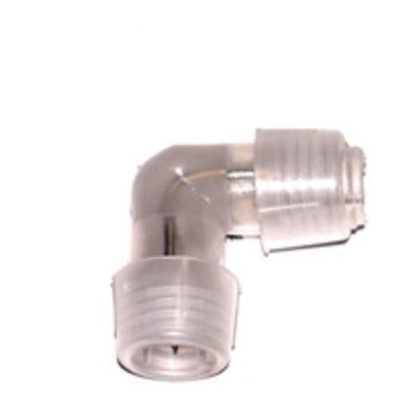 Соединитель для 2-х проводного дюралайта,  L-образный, 40 мм
