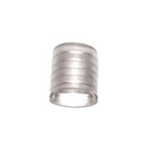 Заглушка 13 мм для 2-х проводного дюралайта, 15х15мм