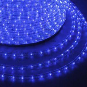 Дюралайт LED, постоянное свечение (2W) — синий, 30 LED/м, бухта 100м