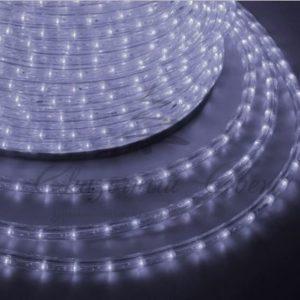 Дюралайт LED, постоянное свечение (2W) — белый, 30 LED/м, бухта 100м