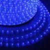 Дюралайт LED, эффект мерцания (2W) - белый Эконом 24 LED/м , бухта 100м 1