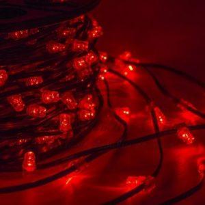 Гирлянда «LED ClipLight» 12V 150 мм, цвет диодов Красный