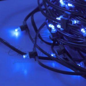 Гирлянда «LED ClipLight» 12V 300 мм, цвет диодов Синий