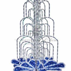 LED фонтан, высота 2. 0, диаметр 1. 3 метра (с контроллером) Синий