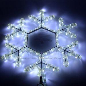 Фигура световая «Снежинка LED» цвет белый, размер 45*38 см