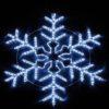 """Фигура световая """"Снежинка"""" цвет белая/синяя, размер 60*60 см, с контролером  NEON-NIGHT 2"""