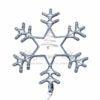 "Фигура ""Снежинка"" LED Светодиодная, без контр. размер 55*55см,   ""СИНЯЯ""  NEON-NIGHT 1"