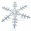 """Фигура световая """"Снежинка"""" цвет белый, размер 95*95 см,  мерцающая  NEON-NIGHT 1"""