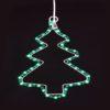 """Фигура """"Снежинка с Дедом Морозом"""" размер 107*95см, 14м дюралайт 1"""