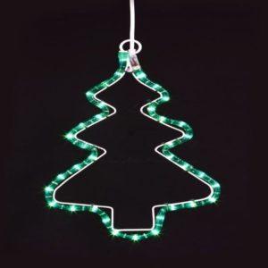 Фигура «Елочка» цвет зеленый, размер 33*25 см
