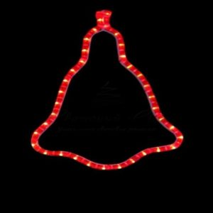 Фигура «Колокольчик» цвет красный, размер 36*30 см