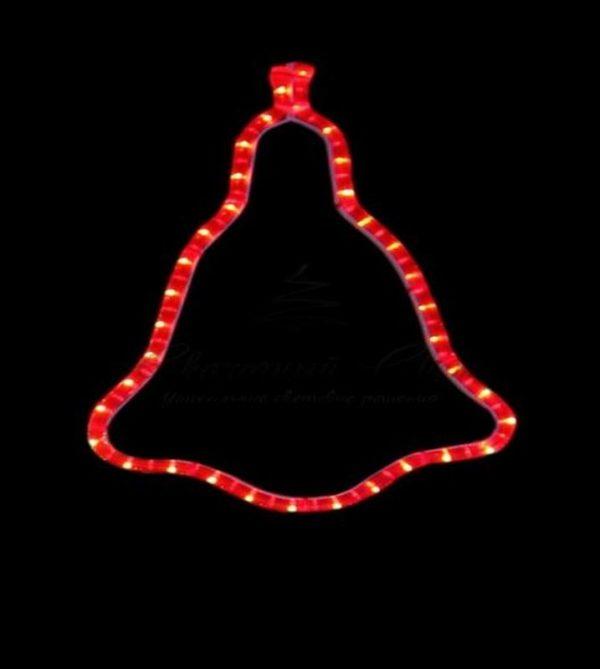 """Фигура """"Колокольчик"""" цвет красный, размер 36*30 см 3"""