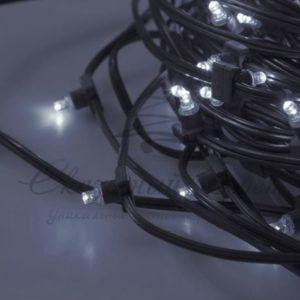 Гирлянда «LED ClipLight» 12V 300 мм, цвет диодов Белый