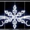 Светодиодная консоль Звезды Триколор, RL-KN-034, размер 1.5*0.6, 180 диодов 2