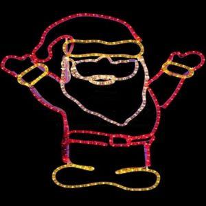 Фигура «Дед Мороз Привет!», размер 83*69 см
