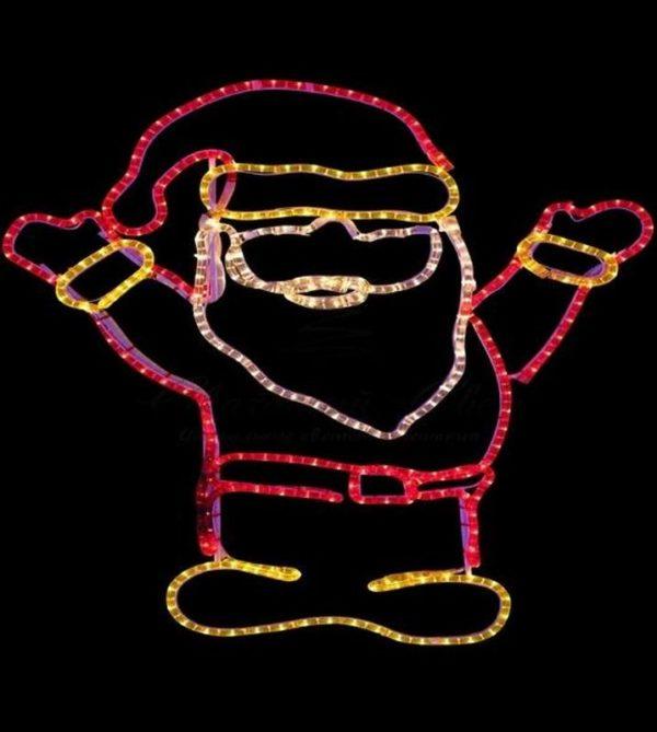 """Фигура """"Дед Мороз Привет!"""", размер 83*69 см 3"""