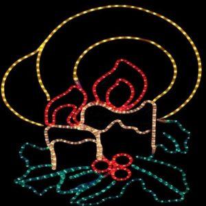 Фигура «Две свечи», размер 100*75 см