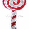 """Фигура """"Дед Мороз с лопатой!"""", размер 83*69 см 1"""