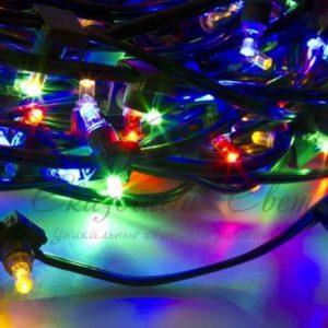 Гирлянда «LED ClipLight» 12V 150 мм, цвет диодов Мульти
