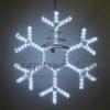 Светодиодная снежинка 70 см, синяя 2