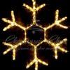 Снежинка Лёд светодиодная Rich LED, 40 см, синяя 1