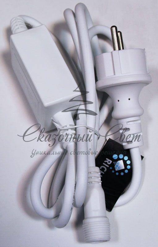 Блок питания для МЕРЦАЮЩИХ изделий Rich LED. 4А. Для соединения до 10 шт