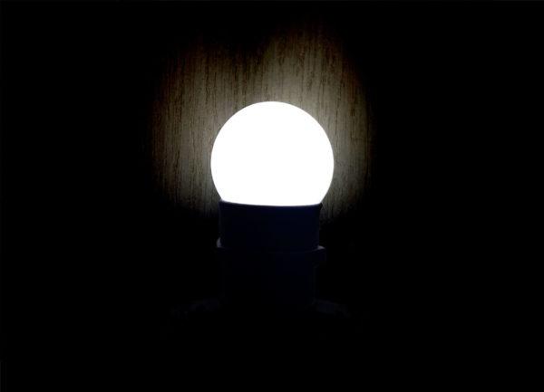 Лампа светодиодная для белт-лайт е27 1Вт белая
