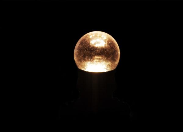Лампа светодиодная для белт-лайт е27 2Вт тепло-белая прозрачная