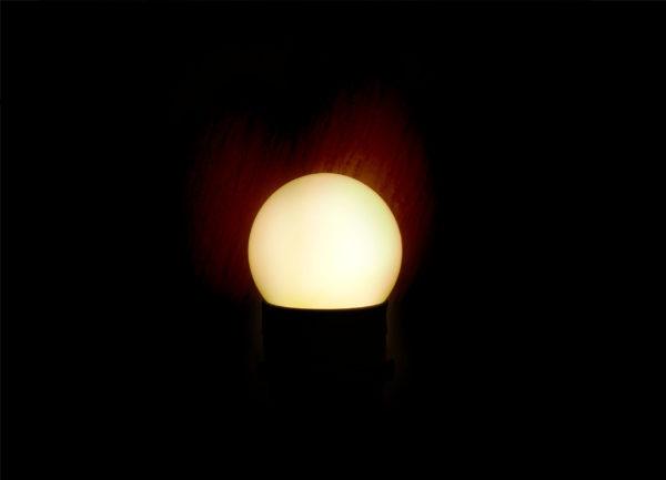 Лампа светодиодная для белт-лайт е27 1Вт тепло-белая