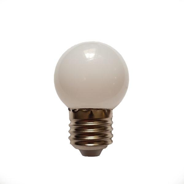 Лампа светодиодная для белт-лайт е27 1Вт тепло-белая 1