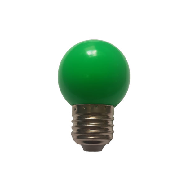 Лампа светодиодная для белт-лайт е27 1Вт зеленая 1