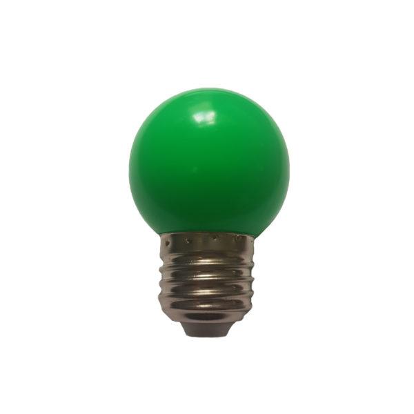 Лампа светодиодная для белт-лайт е27 1Вт зеленая