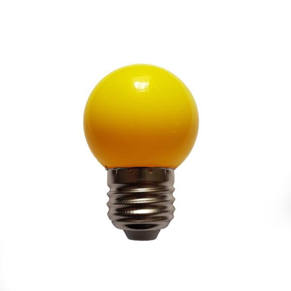 Лампа светодиодная для белт-лайт е27 1Вт желтая