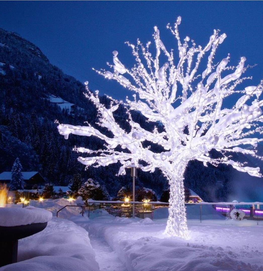 Подсветка деревьев 2