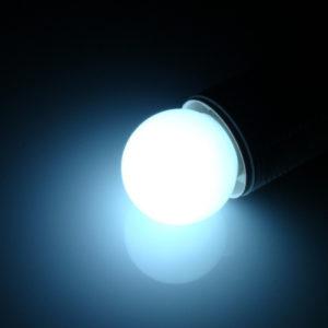 LED лампа – шарик с цоколем E27, 40 мм, (5 светодиодов), матовые, белый