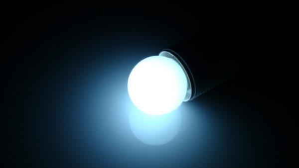LED лампа - шарик с цоколем E27, 40 мм, (5 светодиодов), матовые, белый 1