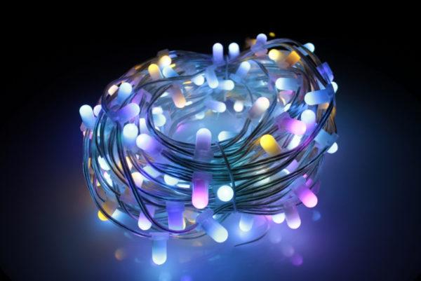 LED клип-лайт, длина 100М без трансформатора, RGB 3